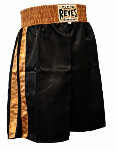 Cleto Reyes Boxing Shorts - Black/Gold